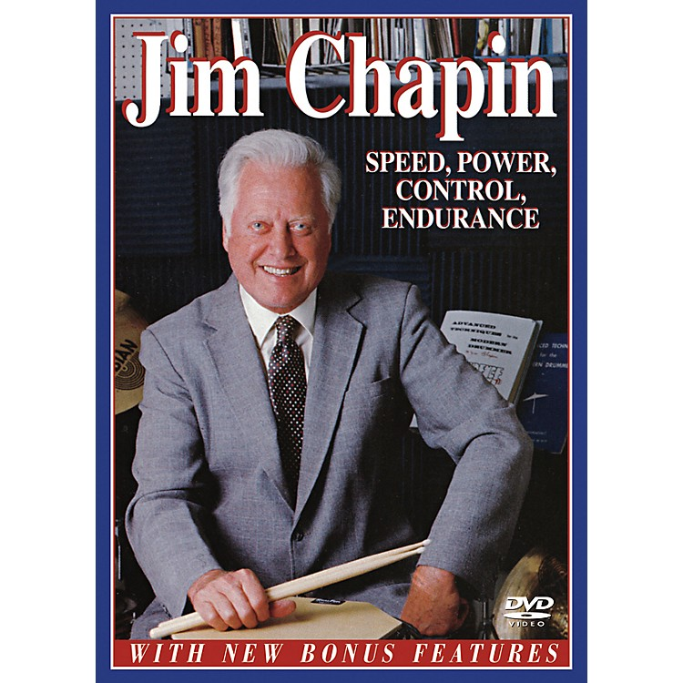 Alfred Jim Chapin - Speed, Power, Control, Endurance (DVD)