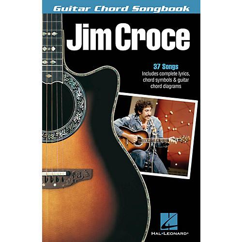 Hal Leonard Jim Croce - Guitar Chord Songbook Guitar Chord Songbook Series Softcover Performed by Jim Croce-thumbnail