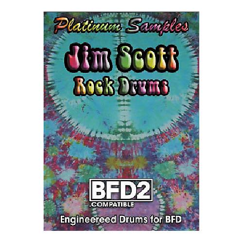 Platinum Samples Jim Scott Rock Drums Volume 1 for BFD2