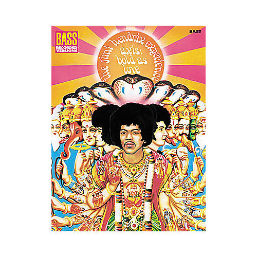 Hal Leonard Jimi Hendrix - Axis: Bold As Love Bass Tab Book