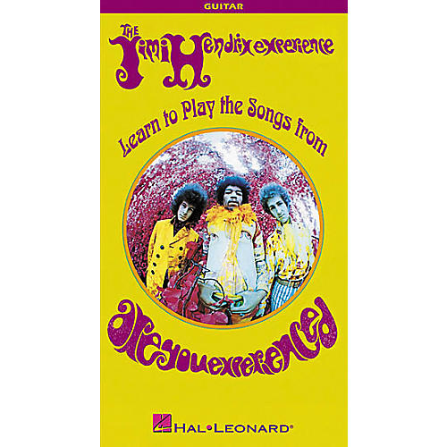 Hal Leonard Jimi Hendrix - Learn to Play the Songs from Are You Experienced 2-VHS Video Set