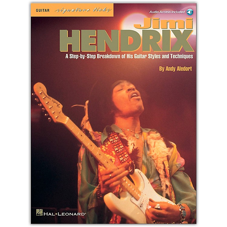 Hal Leonard Jimi Hendrix - Signature Licks Guitar Tab Songbook with CD