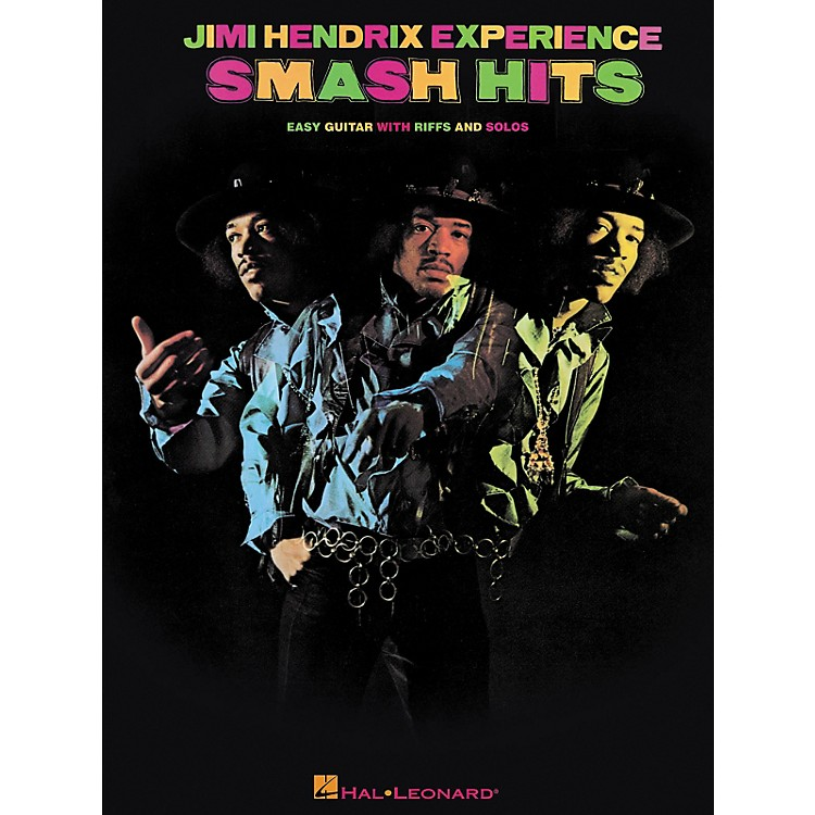 Hal LeonardJimi Hendrix - Smash Hits Easy Guitar Series Tab Songbook