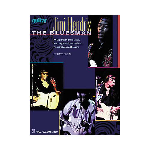 Hal Leonard Jimi Hendrix - The Bluesman Guitar Tab Book-thumbnail
