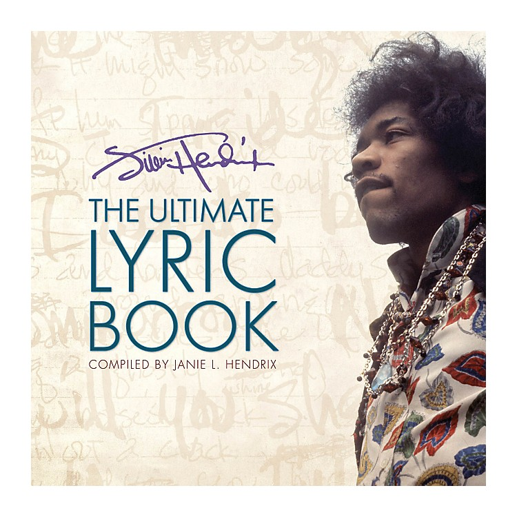 Hal Leonard Jimi Hendrix - The Ultimate Lyric Book