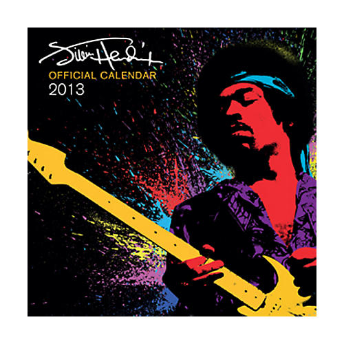 Browntrout Publishing Jimi Hendrix 2013 Square 12X12 Wall Calendar