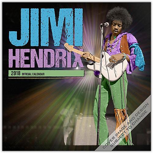 Browntrout Publishing Jimi Hendrix 2018 Wall Calendar-thumbnail
