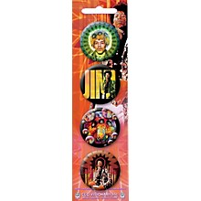 C&D Visionary Jimi Hendrix 4-Pieces Button Set