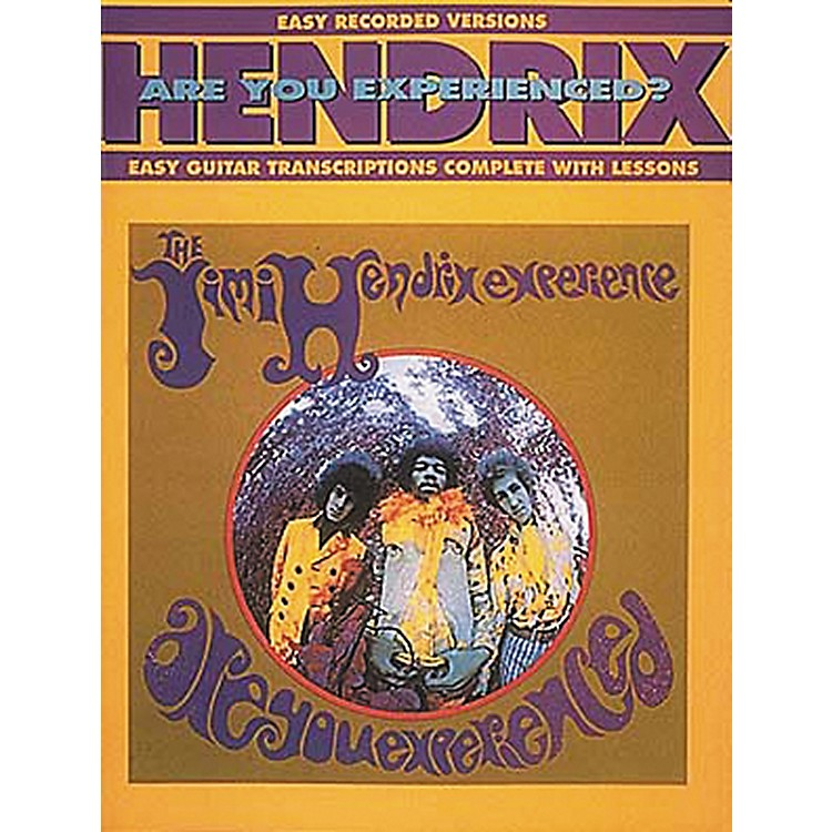 Hal Leonard Jimi Hendrix Are You Experienced? Easy Guitar Tab Songbook with Lessons