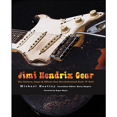 Hal Leonard Jimi Hendrix Gear Book-thumbnail