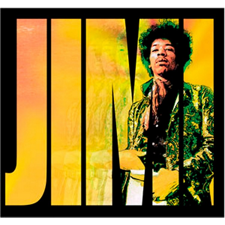 C&D Visionary Jimi Hendrix Logo Sticker
