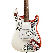 Fender Jimi Hendrix Monterey Stratocaster Electric Guitar Custom Graphic