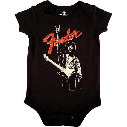 Fender Jimi Hendrix Peace Sign Onesie