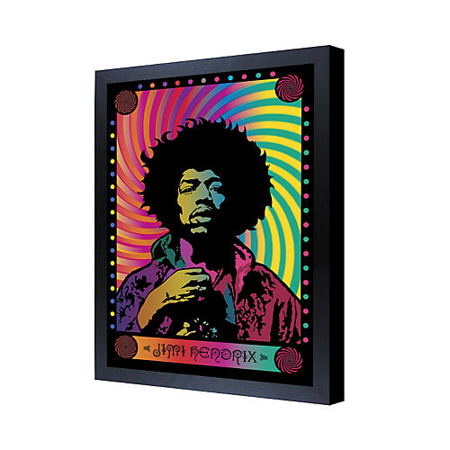 Ace Framing Jimi Hendrix Psychedelic 3D Framed Poster-thumbnail