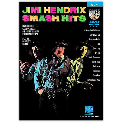 Hal Leonard Jimi Hendrix Smash Hits - Guitar Play-Along DVD Volume 41