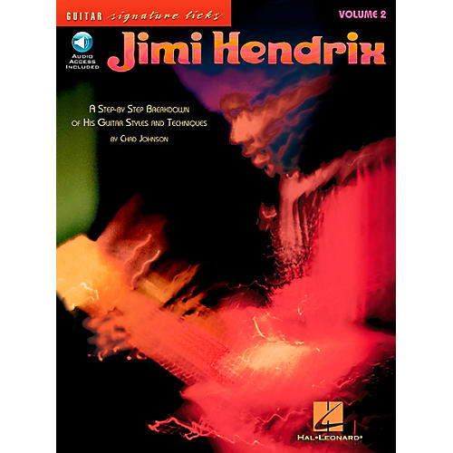 Hal Leonard Jimi Hendrix Volume 2: A Step by Step Breakdown of His Guitar Styles and Techniques (Book/CD)-thumbnail