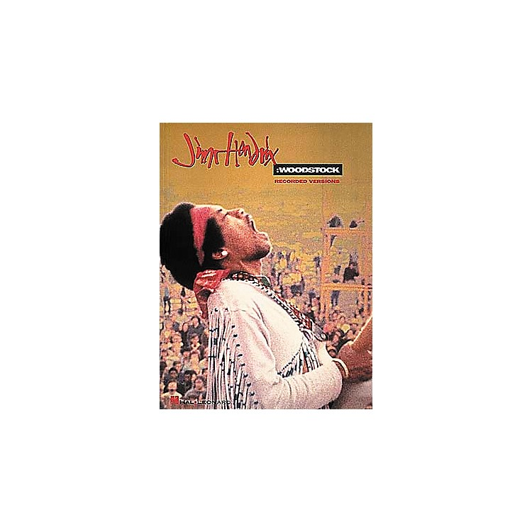 Hal LeonardJimi Hendrix Woodstock Guitar Tab Songbook