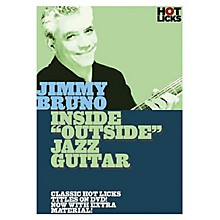 Music Sales Jimmy Bruno - Inside Outside Jazz Guitar Music Sales America Series DVD Performed by Jimmy Bruno