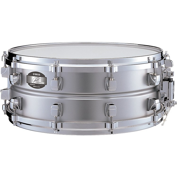 Yamaha jimmy chamberlin signature steel snare drum for Yamaha stage custom steel snare drum 14x6 5