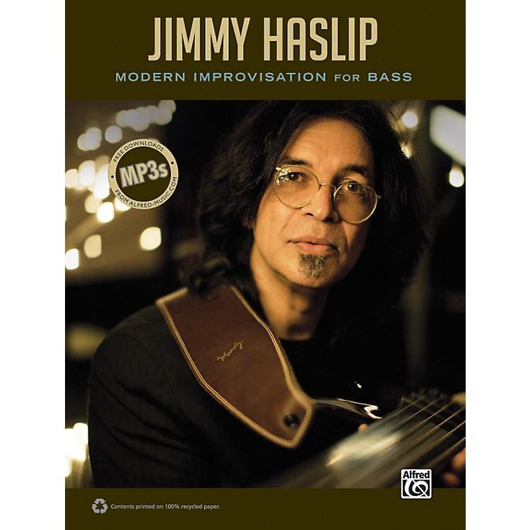 AlfredJimmy Haslip Modern Improvisation for Bass Book