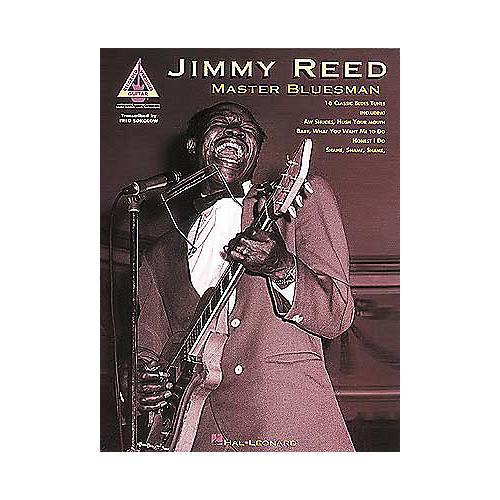 Hal Leonard Jimmy Reed - Master Bluesman Guitar Tab Book-thumbnail
