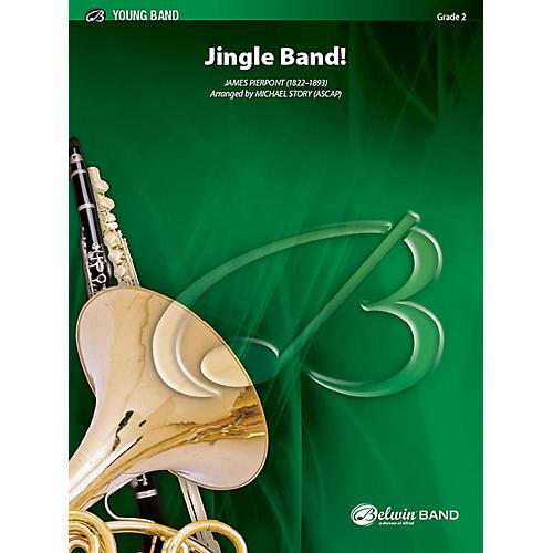 Alfred Jingle Band! Concert Band Grade 2 Set-thumbnail