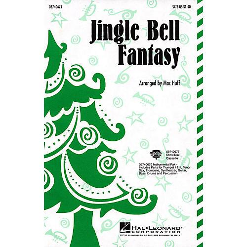 Hal Leonard Jingle Bell Fantasy SATB arranged by Mac Huff