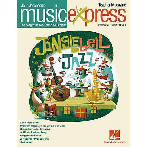 Hal Leonard Jingle Bell Jazz Vol. 15 No. 3 (December 2014) PREMIUM COMPLETE PAK Arranged by Emily Crocker