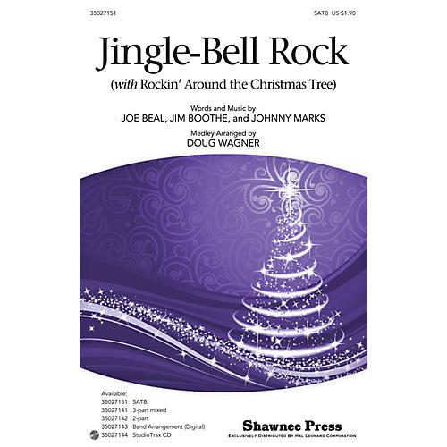 Hal Leonard Jingle-Bell Rock (with Rockin' Around the Christmas Tree) Studiotrax CD Arranged by Douglas Wagner-thumbnail
