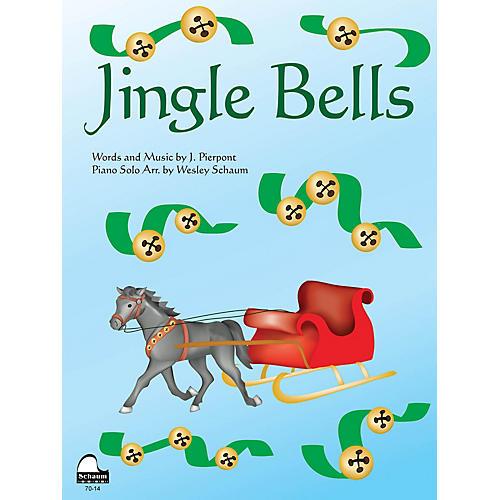 SCHAUM Jingle Bells Educational Piano Series Softcover