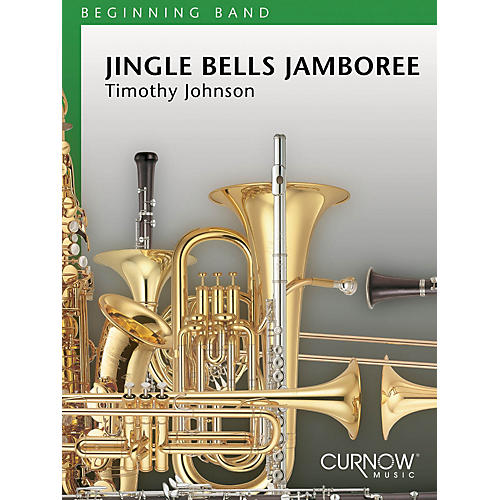 Curnow Music Jingle Bells Jamboree (Grade 1 - Score Only) Concert Band Level 1 Composed by Timothy Johnson-thumbnail
