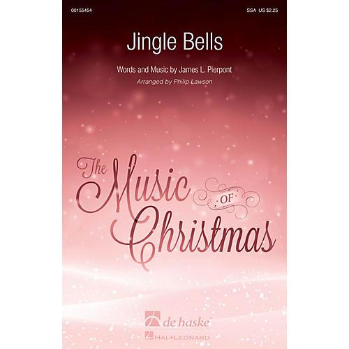 De Haske Music Jingle Bells SSA arranged by Philip Lawson-thumbnail