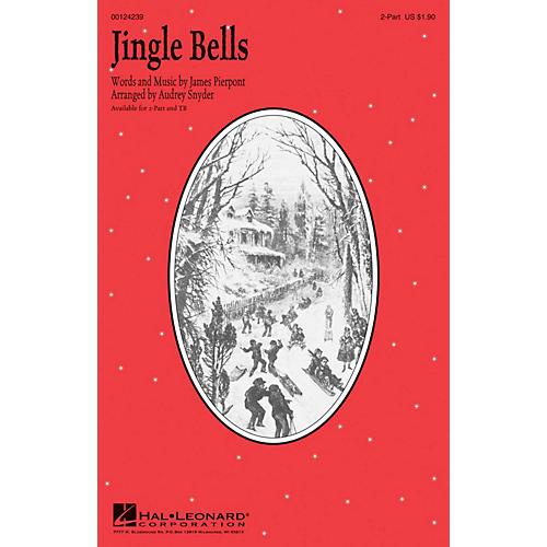 Hal Leonard Jingle Bells TB Arranged by Audrey Snyder-thumbnail