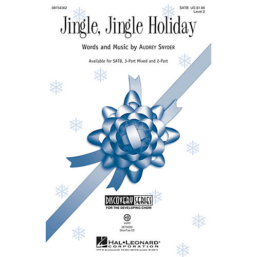 Hal Leonard Jingle, Jingle Holiday (Discovery Level 2) SATB composed by Audrey Snyder-thumbnail