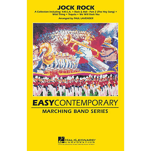 Hal Leonard Jock Rock Marching Band Level 2 Arranged by Paul Lavender-thumbnail
