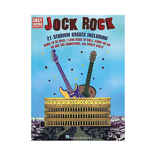 Hal Leonard Jock Rock for Easy Guitar Book