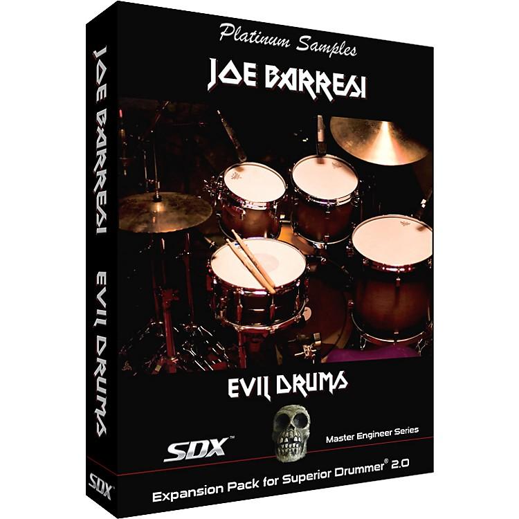 Platinum SamplesJoe Barresi Evil Drums SDX for Superior Drummer 2.0 Sample Collection