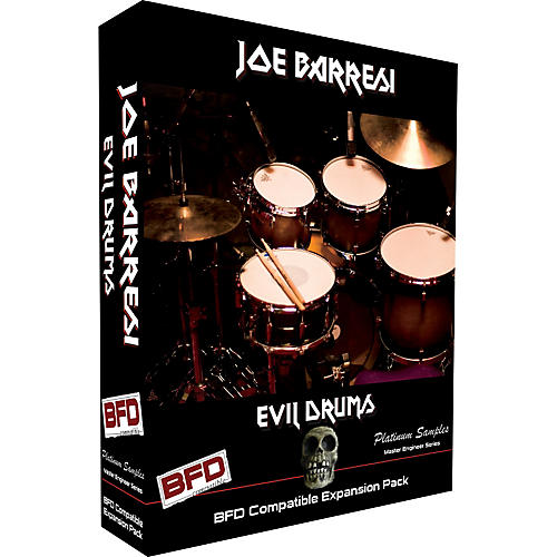 Platinum Samples Joe Barresi Evil Drums for BFD