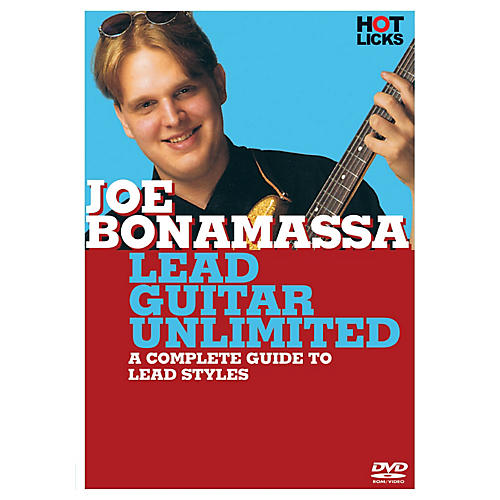 Hal Leonard Joe Bonamassa - Lead Guitar Unlimited DVD Hot Licks