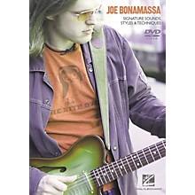 Hal Leonard Joe Bonamassa - Signature Sounds, Styles and Techniques (DVD)
