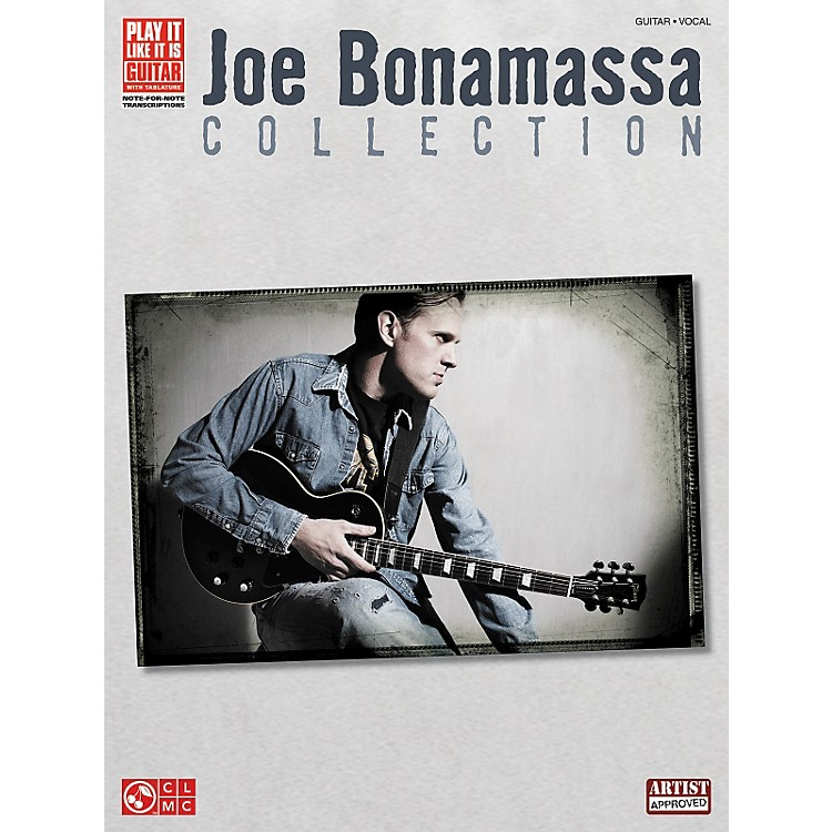 Hal LeonardJoe Bonamassa Collection Guitar Tab Songbook