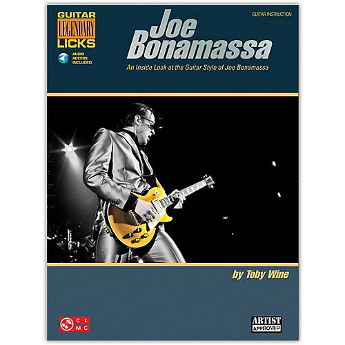 Cherry Lane Joe Bonamassa Legendary Licks Book/CD