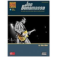 Cherry Lane Joe Bonamassa Legendary Licks Book/Online Audio