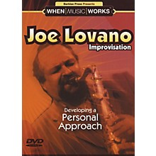 Berklee Press Joe Lovano Improvisation Saxophone (DVD)