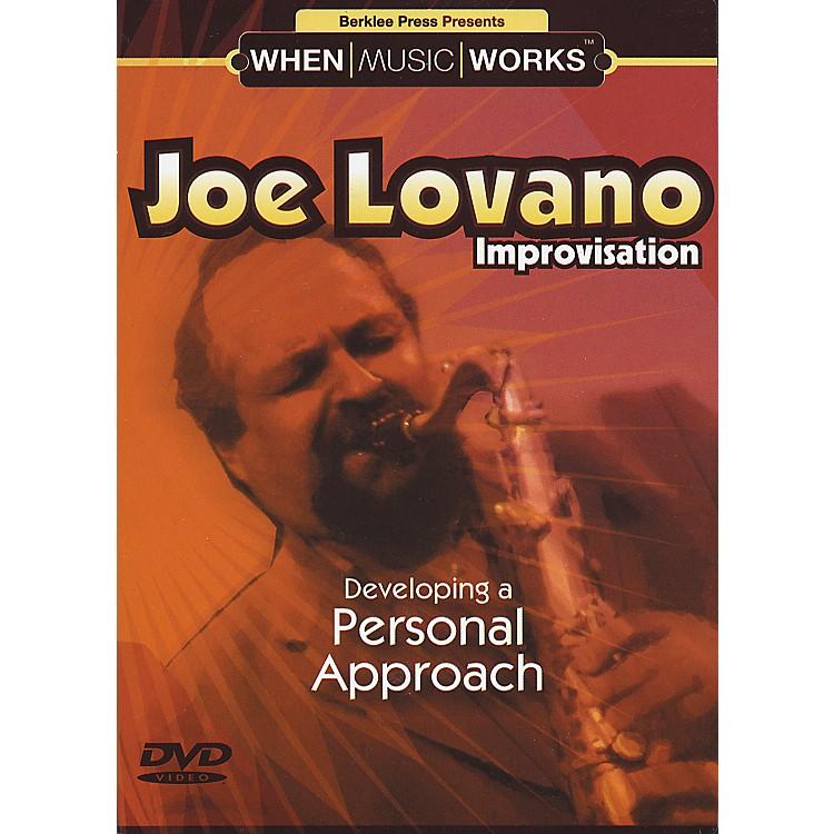 Berklee PressJoe Lovano Improvisation Saxophone (DVD)