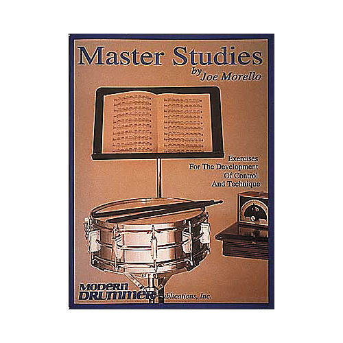 Hal Leonard Joe Morello - Master Studies Book