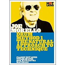 Hot Licks Joe Morello Drum Method 1: The Natural Approach to Technique (DVD)