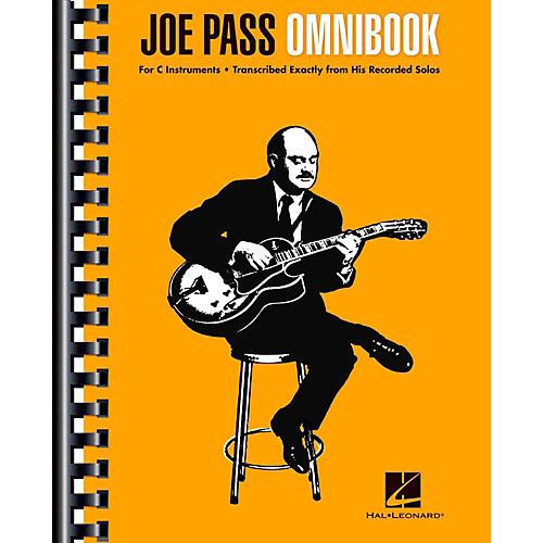 Hal Leonard Joe Pass Omnibook For C Instruments