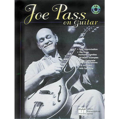 Alfred Joe Pass On Guitar Book/CD