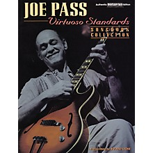 Alfred Joe Pass Virtuoso Standards Guitar Tab Book
